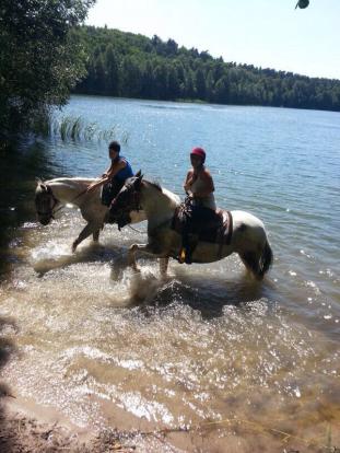 Zwei im See